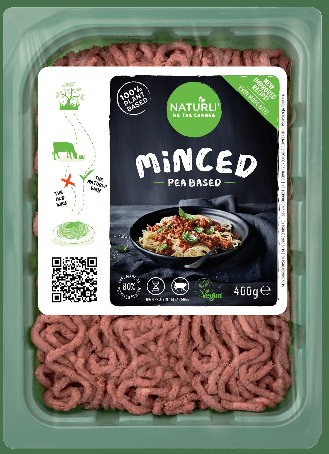 Minced Pea Based